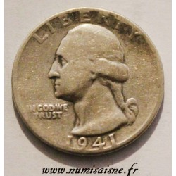 UNITED STATES - KM 164 - 1/4 DOLLAR 1941
