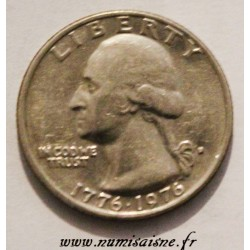 UNITED STATES - KM 204 - 1/4 DOLLAR 1976 - D - Denver - Bicentennial of independence