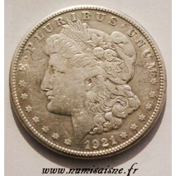 UNITED STATES - KM 110 - 1 DOLLAR 1921 S - San Francisco - MORGAN