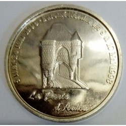02 - AISNE - LAON - EURO CITIES - 20 EURO 1998 - THE DOOR OF ARBON