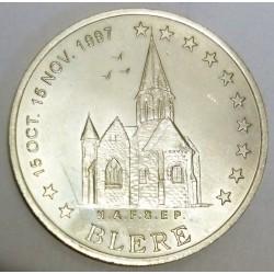 FRANCE - 37 - INDRE-ET-LOIRE - BLERE - EURO DES VILLES - 20 EURO 1997