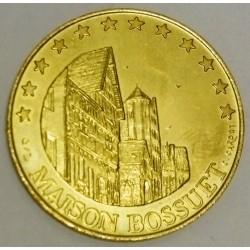 FRANCE - 21 - CÔTE D'OR - SEURRE - EUROS OF CITIES - 1,5 EURO 1997 - MAISON DE BOSSUET