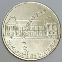 FRANCE - 35- ILE-ET-VILAINE - RENNES - EUROS OF CITIES - 20 EURO 1997 - THE PARLIAMENT OF BRITTANY