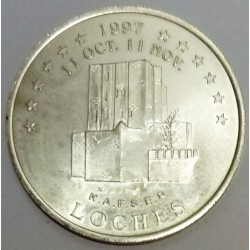 FRANCE - 37- INDRE-ET-LOIRE - LOCHES - EUROS OF CITIES - 20 EURO 1997 - Castle