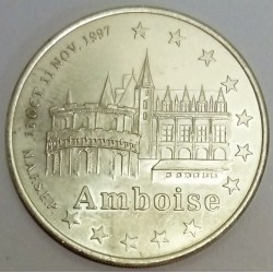 FRANCE - 37 - INDRE-ET-LOIRE - AMBOISE - EURO CITIES - 20 EURO 1997 - CASTLE