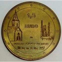 FRANCE - 76 - SEINE MARITIME - GRAVENCHON - EURO CITIES - 1,5 EURO 1997 - NOTRE DAME