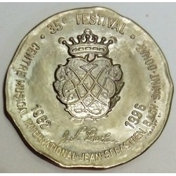 FRANCE - 26 - DRÔME - SAINT-DONAT-SUR-L'HERBASSE - EURO OF CITY - 3 EURO 1996 - 35TH J.S. BACH MUSIC FESTIVAL