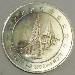 FRANCE - 76 - SEINE MARITIME - LE HAVRE - EURO CITIES - 20 EURO 1996 - NORMANDY BRIDGE
