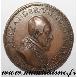 MEDAL - VATICAN - 1655 - POPE ALEXANDER VII 1655 - 1667