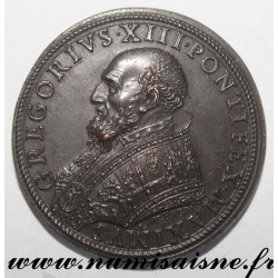 MEDAL - VATICAN - 1656 - POPE GREGORY XIII - 1572 - 1585