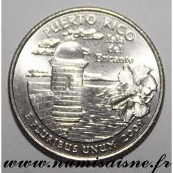 UNITED STATES - KM 446 - 1/4 DOLLAR 2009 D - Denver - Puerto Rico