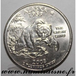 UNITED STATES - KM 422 - 1/4 DOLLAR 2008 D - Denver - Alaska