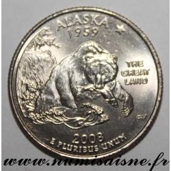 UNITED STATES - KM 422 - 1/4 DOLLAR 2008 P - Philadelphia - Alaska