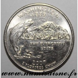 UNITED STATES - KM 397 - 1/4 DOLLAR 2007 P - Philadelphia - WASHINGTON