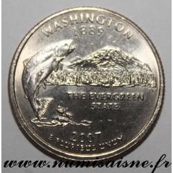 UNITED STATES - KM 397 - 1/4 DOLLAR 2007 D - Denver - WASHINGTON