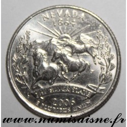 UNITED STATES - KM 382 - 1/4 DOLLAR 2006 D - Denver - NEVADA