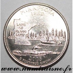 UNITED STATES - KM 371 - 1/4 DOLLAR 2005 D - Denver - MINNESOTA