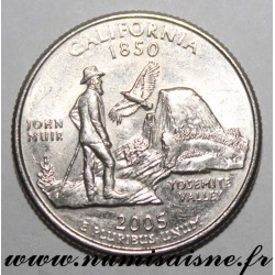 UNITED STATES - KM 370 - 1/4 DOLLAR 2005 D - Denver - CALIFORNIA