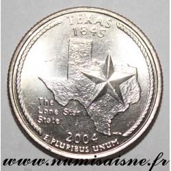 UNITED STATES - KM 357 - 1/4 DOLLAR 2004 D - Denver - TEXAS