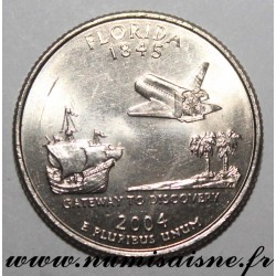 UNITED STATES - KM 356 - 1/4 DOLLAR 2004 D - Denver - FLORIDA