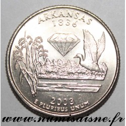 UNITED STATES - KM 347 - 1/4 DOLLAR 2003 P - Philadelphia - ARKANSAS