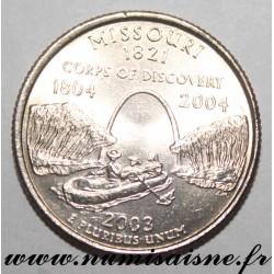 UNITED STATES - KM 346 - 1/4 DOLLAR 2003 P - Philadelphia - MISSOURI