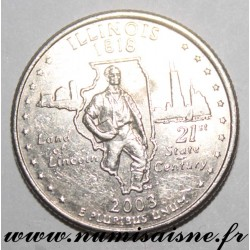 UNITED STATES - KM 343 - 1/4 DOLLAR 2003 D - Denver - ILLINOIS