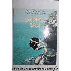 CORSICA - PROTOTYPE EURO COIN SET - TRIAL / PATTERN - 8 COINS - 2004 - NAPOLÉON Ist