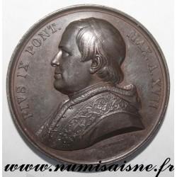 MEDAL - VATICAN - 1862 - POPE PIUS IX - 1846 - 1878