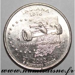 UNITED STATES - KM 334 - 1/4 DOLLAR 2002 D - Denver - INDIANA