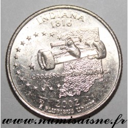 UNITED STATES - KM 334 - 1/4 DOLLAR 2002 D - Denver - INDIANA