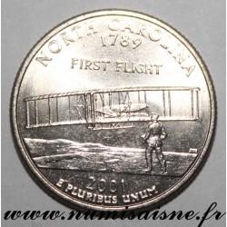 UNITED STATES - KM 319 - 1/4 DOLLAR 2001 P - Philadephia - NORTH CAROLINA
