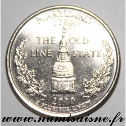 UNITED STATES - KM 305 - 1/4 DOLLAR 2000 D - Denver - MARYLAND