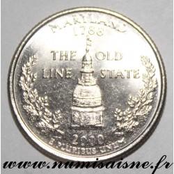 UNITED STATES - KM 305 - 1/4 DOLLAR 2000 D - Denver - MARYLAND