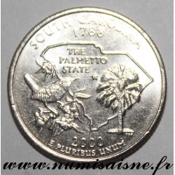 UNITED STATES - KM 307 - 1/4 DOLLAR 2000 D - Denver - SOUTH CAROLINA