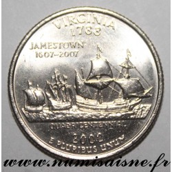 UNITED STATES - KM 309 - 1/4 DOLLAR 2000 D - Denver - VIRGINIA