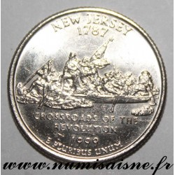 UNITED STATES - KM 295 - 1/4 DOLLAR 1999 D - NEW JERSEY