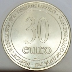 FRANCE - TEMPORARY EURO - 30 EURO 1996 - LECLERC STORE - goddess Europe
