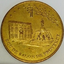 FRANCE - 13 - BOUCHES-DU-RHÔNE - SALON-DE-PROVENCE - EURO OF CITY - 1 ECU 1995