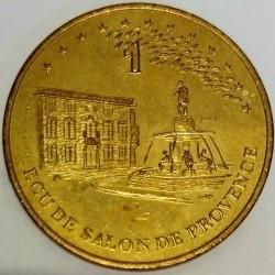 FRANCE - 13 - BOUCHES-DU-RHÔNE - SALON-DE-PROVENCE - ECU OF CITY - 1 ECU 1995 - XEME HISTORIC RECONSTITUTON