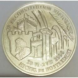 FRANCE - 13 - BOUCHES-DU-RHÔNE - SALON-DE-PROVENCE - ECU OF CITY - 20 ECUS 1995 - XEME HISTORIC RECONSTITUTON