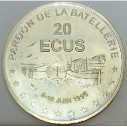 FRANCE - 78 - YVELINES - CONFLANS-SAINT-HONORINE - ECU CITIES - 20 ECUS 1995 - PENICHES GATHERING - MONTJOIE TOWER