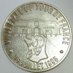 FRANCE - 81 - TARN - SAINT-ORENS - ECU OF CITY - 25 ECUS 1995 - CITY STAGE OF THE TOUR DE FRANCE