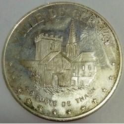FRANCE - 68 - HAUT-RHIN - CERNAY - ECU OF CITY - 20 ECUS 1995 - THE GATE OF THANN