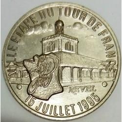 FRANCE - 31- HAUTE-GARONNE - REVEL - ECU OF CITY - 1.5 ECUS 1995 - CITY STAGE OF THE TOUR DE FRANCE