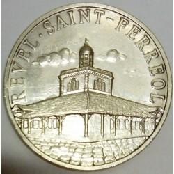 FRANCE - 31- HAUTE-GARONNE - REVEL - SAINT-FERREOL - ECU OF CITY - 25 ECUS 1995