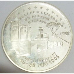 FRANCE - 44 - LOIRE-ATLANTIQUE - VALLEE DE CLISSON - ECU OF CITY - 20 ECUS 1995