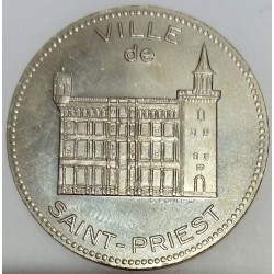 FRANCE - 69 - RHÔNE - SAINT-PRIEST - ECU OF CITY - 2 ECU 1994 - CASTLE - UNION OF TRADERS AND CRAFTSMEN
