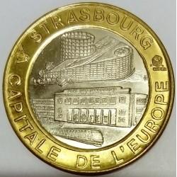 FRANCE - 67 - BAS-RHIN - STRASBOURG - ECU DES VILLES - 5 ECUS 1994 - 62ND EUROPEAN FAIR