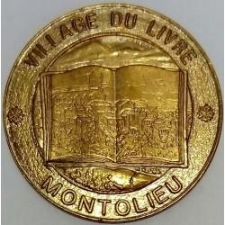 FRANCE - 11 - AUDE - MONTOLIEU - ECU DES VILLES - 1.50 ECU 1995 - VILLAGE OF THE BOOK